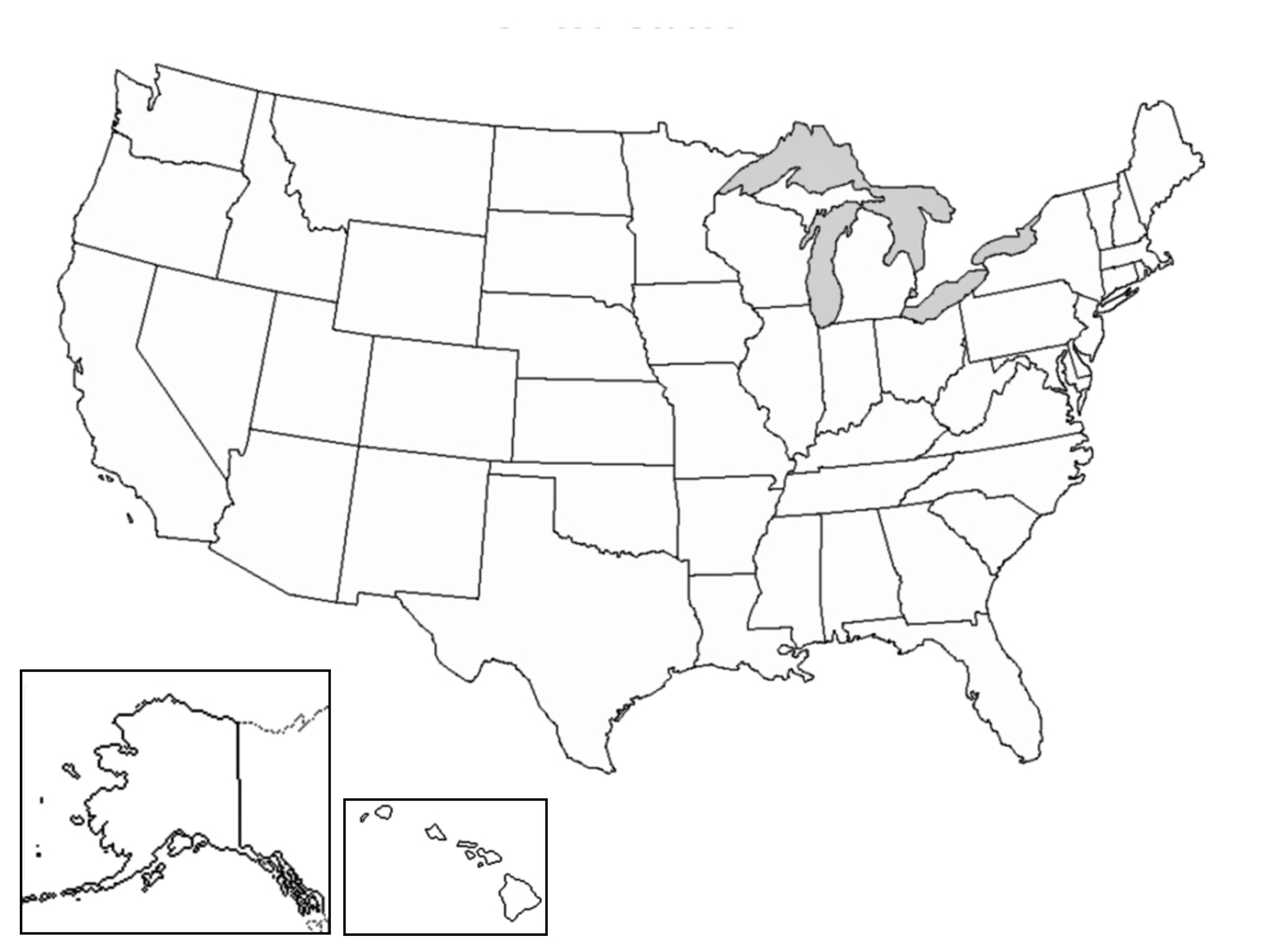 Pics Photos - Us Map Blank Printable